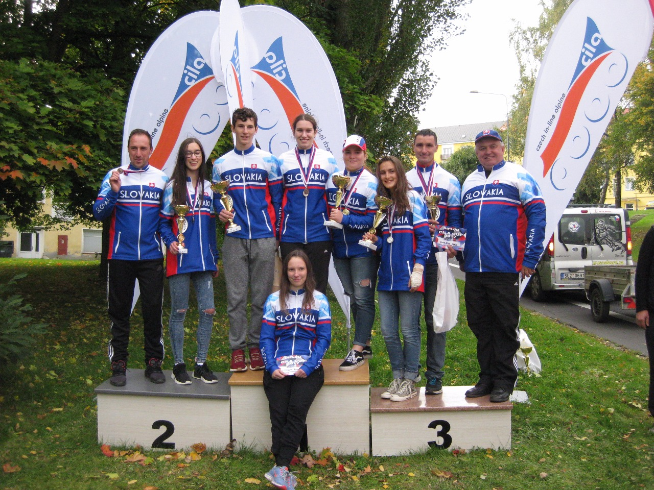 Inline Alpin : Majstrovstvá Českej republiky v slalome a v obrovskom slalome v Meziboří