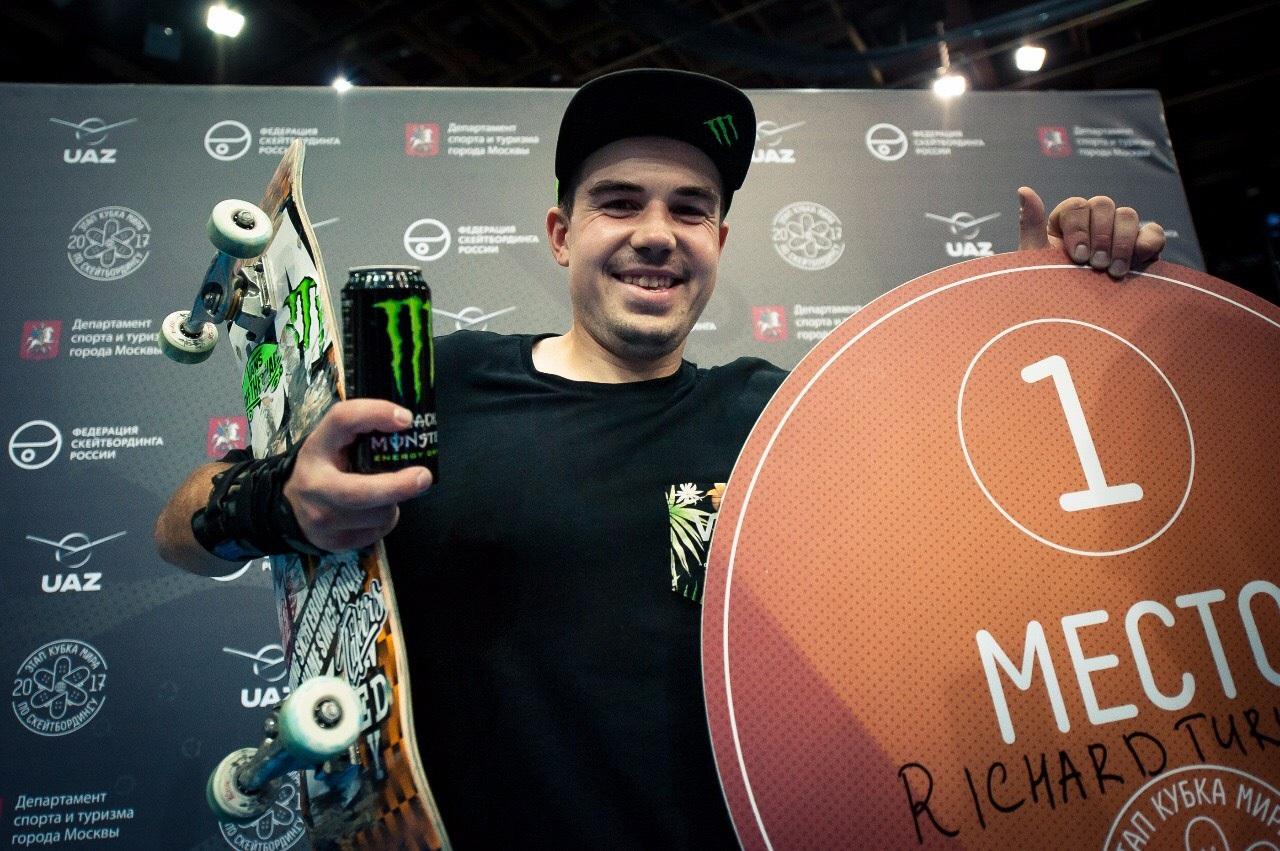 Skateboardikg :  Svetový pohár,  Moskva, 20. November  2017.