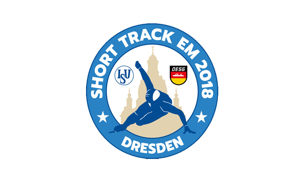 Short track :ISU European  Championships  12.-14. January 2018 Dresden/Germany