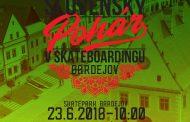 Skateboarding:Pozvánka na 2. kolo Slovenského pohára , 23.6.2018 v Bardejove.