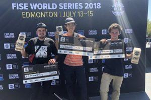 Skateboarding: Svetový pohár - Edmonton, 13.-15.7.2018