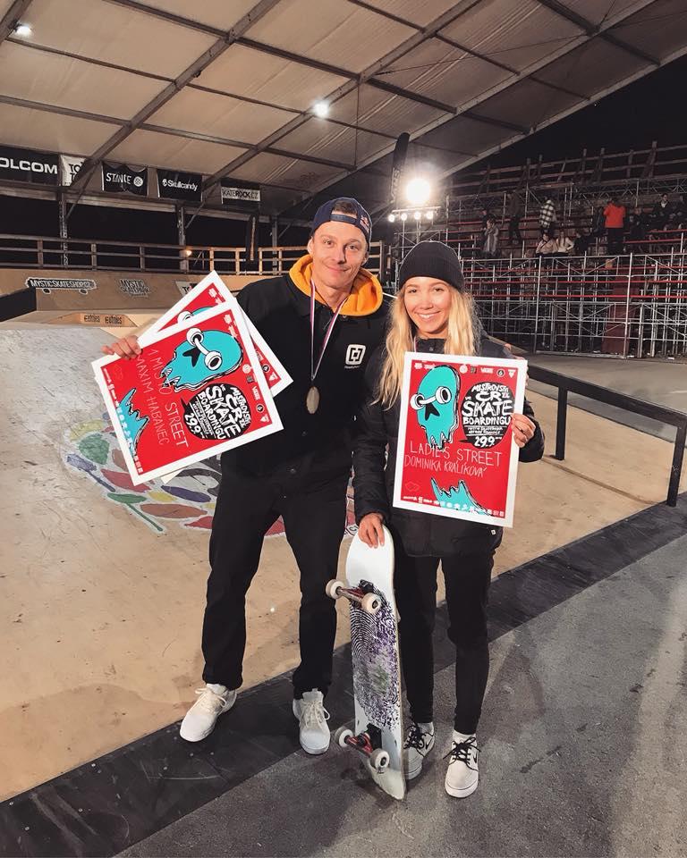 Skateboarding: Majstrovstvá ČR v skateboardingu 2018