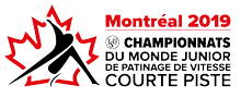 Short track: ISU World Junior Short Track Speed Skating Championships Jan 25 - Jan 27, 2019  Montréal /CAN