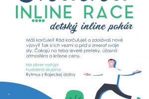 Inline speed: POZVÁNKA na Finále Slovenského inline pohára mládeže - Rajecké Teplice, 31.8.2019