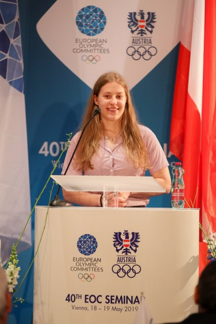 Petra RUSNÁKOVÁ - Štipendistkou Olympijskej solidarity Medzinárodného olympijského výboru