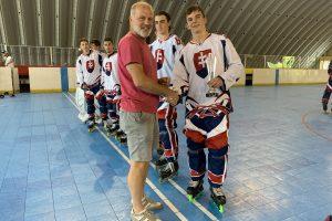 Inline Hockey : Prvé Majstrovstvá Slovenska U-23
